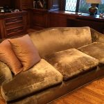 9' Crushed Velvet Sofa $500 OBO