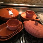 12 Pieces Terra Cotta Bakeware & Serving Dishes $100 OBO