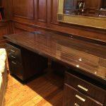 Zebra Wood Executive Desk $1750 OBO