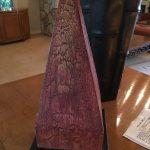 Brpnze Stand w/Wood Obelisk $100