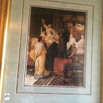 'Worshipping The Caesar Statue' Framed Print $40
