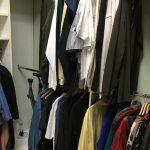 Men's Clothes Suits $25 Each. 75% off Other Garments. Coat Hangers Wood $1. Each