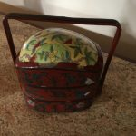 Vintage Nesting Chinese Box $100