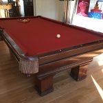 Antique Brunswick Pool Table $4000