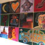Frank Romero '15 Painting Mural' $7500