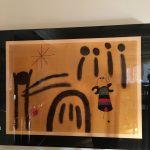 Joan Miro Framed Print $450