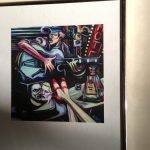 "Pair Framed Prints 11""x14"""