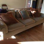 9' Sofa & Pillows $400