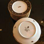 Lynn Chase Oak Leaves & Acorns Appetizer Plates $300