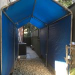 Outdoor Storage Tent/Cover 12'x6' $175